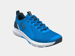 Under Armour Men's UA Charged Commit TR 3 Running Sports Training Shoes Blue NEW