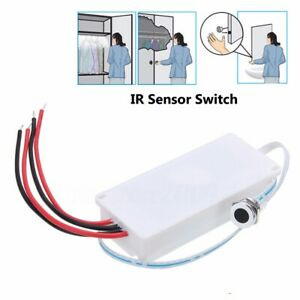Touchless IR Sensor Motion On/Off Light Switch Kitchen Mirror Cabinet Light o