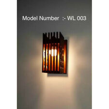Solid Jack Wood Wall Lamp