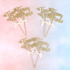 6pcs team bride cake cupcake toppers bachelorette hen party decorations supplies