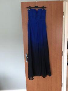Electric Blue Maxi Dress