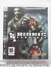 OCCASION: Jeu BIONIC COMMANDO PS3 playstation 3 sony game francais action capcom