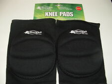 RELIANCE  KNEE PADS SIZE SENIOR/ADULT BLACK *NEW* x 2