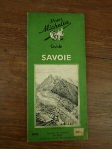 Guide Vert Michelin SAVOIE Edition 1948