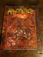 Werewolf: The Apocalypse: Time Of Judgment, WW3999 - hardback mint condition