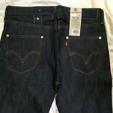Levis LVC 201 Selvedge Suspender Buttons Cinch Back Jeans Rigid NWT Lmtd Quanity