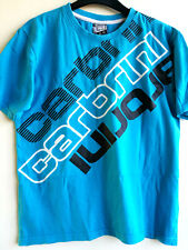 CARBRINI KIDS UNISEX T-SHIRT TOP SKYBLUE COTTON SIZE XS; 12-13 Years;