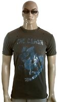 AMPLIFIED THE CLASH Dragon Rock Star Vintage ViP Löcher Destroyed T-Shirt M