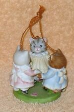 Kitty Cucumber Schmid Three Kittens Ornament Mnb