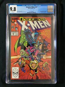 Uncanny X-Men #240 CGC 9.8 (1988) - Mister Sinister cover