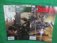 VERTIGO The CRUSADES Lot of 3 #10.11 & 12 2002