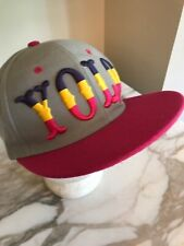 YOLO Adjustable Snapback Hat Hip Hop You Only Live Once Cap Gray Pink Yellow