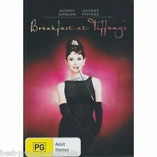 Breakfast At Tiffany's DVD TOP 500 MOVIES Audrey Hepburn BRAND NEW SEALED R4