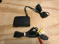 AUTHENTIC, OEM, OFFICIAL, Nintendo 64 N64 POWER ADAPTER AND AV CORD CABLE TESTED