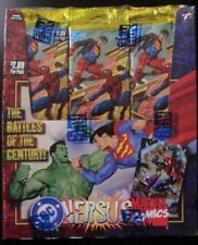 SKYBOX DC VERSUS MARVEL TRADING CARD RETAIL 24 COUNT PACK BOX SEALED