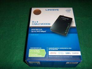 Linksys CM3008  8X4 Cable Modem  DOCSIS 3.0