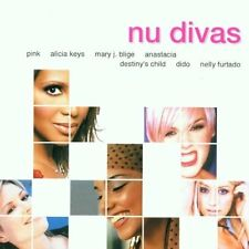 Nu Divas (2002, BMG) P!nk, Jennifer Lopez, Alicia Keys, Mary J. Blige, An.. [CD]