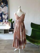 TWIN SET Simona Barbieri Kleid Dress Maxikleid Maxi Batik Gr. S - Walla Walla