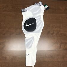 Nike Pro Combat Hyperstrong White Hard Plate Xl Girdle Pants 838428-100