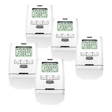 5 Piece Hy 2000 Electronic Radiator Thermostat Made in German