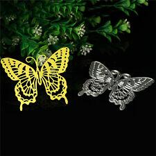 Schmetterling Cutting Dies Stencil DIY Scrapbook Album Tagebuch Stanzschablone#~