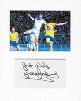 West Ham United Trevor Brooking genuine authentic signed autograph signature COA