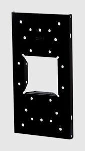 "NEW Black Solar Group Universal Mailbox Steel Mounting Bracket Board 6"" UMBS0B06"