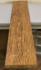 "L60) Figured Afromosia Board (47 x 9) Lumber 1.5"" thick Kiln Dried Wood"