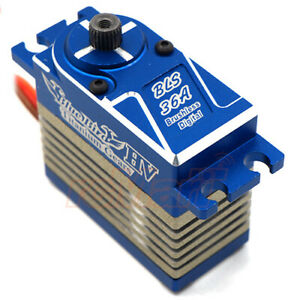 Blue Bird Aluminum Titanium Gears Digital Brushless Servo 1:10 RC Cars #BLS-36A