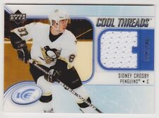 05-06 Sidney Crosby UD ICE Cool Threads Jersey SP Rookie 24/100