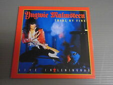 YNGWIE MALMSTEEN Japan Mini LP CD with INSERT, TRIAL BY FIRE: LIVE IN LENINGRAD