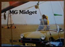 Mg Midget ORIG 1974 UK inchiostri SALES BROCHURE-RIF 3088 / A