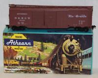 Athearn 5039 HO D&RGW 61720 50' DD Box Car Built Kit Rio Grande