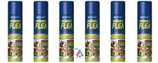 1/2/4/6 200ml Household Flea Killer Spray Aerosol Animal Flea Tick Protection