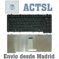 TECLADO ESPAÑOL TOSHIBA SATELLITE A200 A205 A210 A215 M200 L300 L300D L200 NEGRO