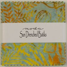 Sun Drenched Batiks Charm Pack by Moda Fabrics