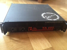 the t.amp TA 450/Endstufe