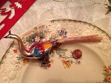 Vintage/Antique Mercury Glass Christmas Bird Ornaments