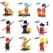 9pcs Dragon Ball Z Son Goku Minifigure Lego Figure Building Blocks Great Gift