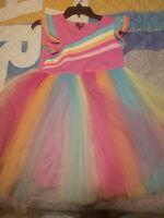 Jojo Siwa Closet Tulle Rainbow Dress