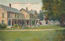 UNION SOCIETY NY – Newcomston Park – Hand Colored Postcard - 1908