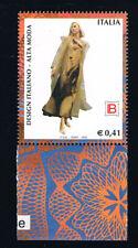 ITALIA 1 FRANCOBOLLO DESIGN ITALIANO LAURA BIAGIOTTI 2002 nuovo** (BI12.345)