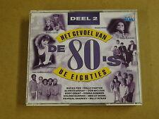 2-CD BOX VTM / HET GEVOEL VAN DE 80'S - DEEL 2