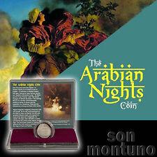 ARABIAN NIGHTS ISLAMIC SILVER COIN + Box & COA - Harun al Rashid - Baghdad IRAQ