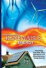 Renewable Energy Made Easy: Free Energy from Solar, Wind, Hydropower, -ExLibrary