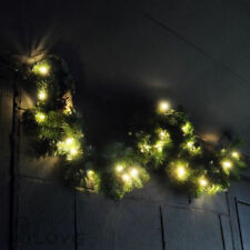 Lot de 220 DEL blanc chaud Noël Christmas Garland Lights multifonction + minuterie