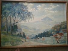 OIL PAINTING ORIGINAL LANDSCAPE ARTIST SIGNED