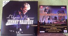 JOHNNY HALLYDAY CD DEUX TITRES  ETAT NEUF . L' HIMNE A L' AMOUR .