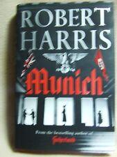 Munich by Robert Harris Hutchinson signed 1st edition.    (Hardback, 2017)