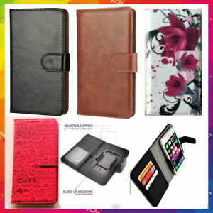 Universal Slim Clip-on Mobile Phone Case For OPPO Phones - PU Leather XL